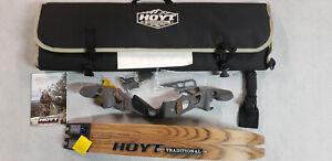 "Hoyt Satori 17"" Right Hand Storm Riser with Medium Maple Limbs"