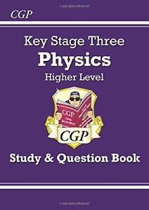 KS3 Physics Study & Question Book - Higher (CGP KS3 Science) by CGP Books Book