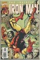 Invincible Iron Man #39 : Marvel Comics : April 2001