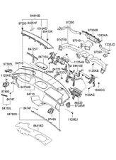 NEW HYUNDAI GENUINE OEM CENTER CONSOLE ARMREST ASSEMBLY 846602E105U7