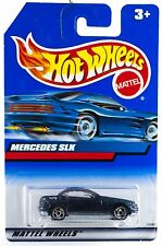 Hot Wheels Mercedes SLK Blue With SB's International Blue Card 1999