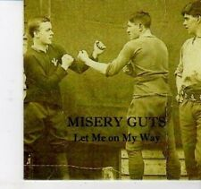 (DH957) Misery Guts, Let Me On My Way - 2012 DJ CD