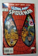 MARVEL COMICS SPIDERMAN LETHAL FOES OF SPIDER MAN 1/4 COMPLETA BOOK ENGLISH  NEW