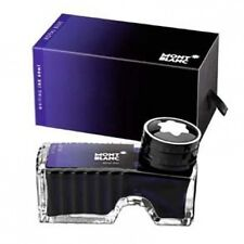MONTBLANC PEN ROYAL BLUE INK  IN INKWELL NEW IN BOX 60ml BEAUTIFUL BOTTLE