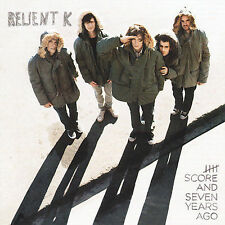 HOT Five Score And Seven Years Ago by Relient K (CD Capitol/EMI Records)