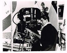 """Jerry Lewis behind movie camera  8x10"""" black & white publicity still photo #nn"""