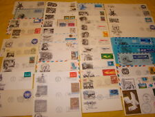 100 UN FDC LOT-- UN FIRST DAY COVERS (ALL UNADDRESSED) VARIOUS CACHETS