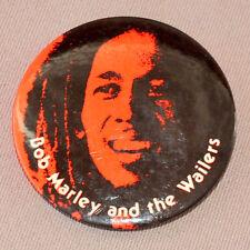 ORIGINAL 1979 BOB MARLEY CONCERT PIN