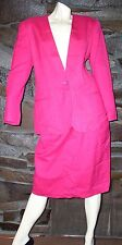 PINK SKIRT SUIT BY RENA ROWAN FOR SEVILLE 2 PIECE GARMENT USA  SIZE 12 NEW $85