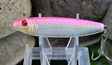 yo zuri speed gem red eye jig 60g 2oz pink chrome high speed / vertical jigging