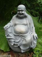 Latex Buddha on ball buddah mold plaster concrete casting garden mould