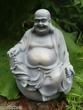 Latex only Buddha on ball buddah mold plaster concrete casting garden mould