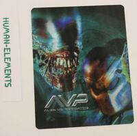 ALIEN VS PREDATOR AVP 1 - Lenticular 3D Flip Magnet Cover FOR bluray steelbook