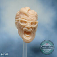 "ML367 Custom Cast head use w/ 6"" Marvel Legends Star Wars Black Series"