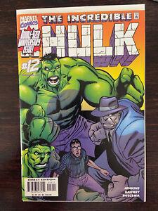 Incredible Hulk #12 (1999) First Guilt and Devil Hulk VF/NM Key Immortal Fix It
