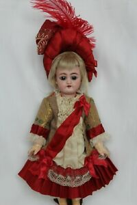 """Silk dress for antique baby doll 10""""."""