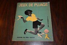 ALBUM ANCIEN - ALBUMS DU PERE CASTOR - JEUX DE PLIAGE - FLAMMARION 1933