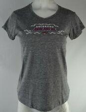 Colorado Avalanche Women's Touch Gray Short Sleeve V-Neck Shirt
