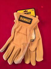 DeWalt DPG31XL Premium Grain Cowhide Driver Gloves, X-Large, XL