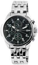 Just Watches XL Herren Quarz Chronograph Modell JW9616GR Edelstahl 5ATM