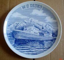 Collectors Plate M/S DISKO Ship