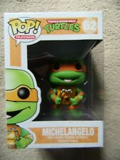 FUNKO POP! MICHELANGELO from TMNT 62 RETIRED FIGURE Rare IN STOCK