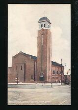 Lancashire Lancs WEST DERBY St Matthew's Catholic Church c1900/10s? PPC