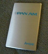Pan Am American Airlines Address Book - Vintage PAA Air Lines Airways Aware