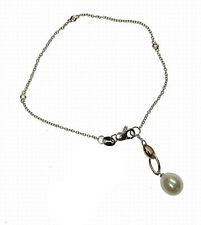 Bracciale  perle e diamanti - Cicalese gioielli Valenza Made in Italy