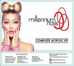 Millennium Complete Acrylic  Nail Set