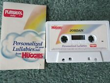 Playskool Cassette of Personalized Lullabies for Baby Jordan