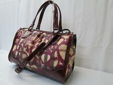 Auth BURBERRY Heart Canvas 2 Way Shoulder Hand Bag 8C080060r