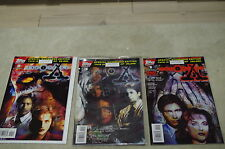 X-FILE 8 COMIC TV SHOW FIRST issue#1,2,3 number+LTD SPECIAL EDITION+8 MOVIE CARD