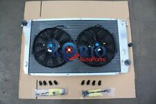 ALUMINUM RADIATOR&Fans Ford Falcon EF EF2 EL Fairlane NF NL LTD DF DL 6CYL V8