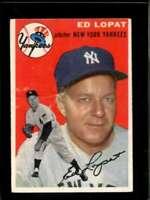 1954 TOPPS #5 ED LOPAT GOOD YANKEES  *X7150