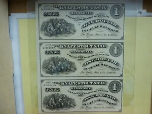 The Knapp, Stout & Co. State Of Wisconsin-Menomonie(3 Note  $1. in Culled Lumber