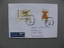 TURKEY, cover to Germany 2005, bird Goldcrest
