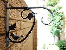 Iron Bird and Vine Garden Flower Pot Lamp Hook Hanger Strong Version