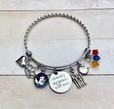 Snow White Someday My Prince Will Come Charm Bracelet