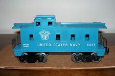 LIONEL POSTWAR TRAIN #6017-200 UNITED STATES NAVY SP-TYPE CABOOSE