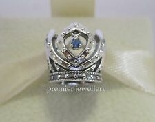 Authentic Genuine Pandora Silver Disney Elsa's Crown Charm 791588CZB