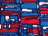 SALE! 2+YDS Brutalist 60's 70's Barkcloth Era Vintage Fabric Yardage Mid Century