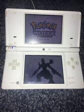 White Nintendo DSi w/ Stylus and Case.  Works great!