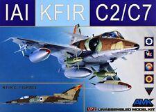 AMK Avante Garde 1/72 Model Kit 86002 IAI C-2/C-7 Kfir