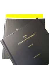Lot of 2 Atlas of Clinical Polysomnography Volumes I & II Nic Butkov RPSGT