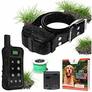 Pet Control HQ Wireless Remote Training Pet Containment System - Safe Recharg...