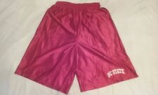 North Carolina State Wolfpack Red Shimmer Basketball Shorts X-Large NCAA ACC New