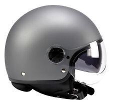 BNO Jet-8 Helm, Motorradhelm, Rollerhelm mit langem Visier + dunkl. Visier, ECE