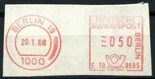 Bund 1988 Mi. Z1 Nuovo ** 100% ATM, francobolli automatici