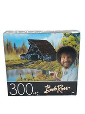 "300 piece Jigsaw puzzle Bob Ross ""RUSTIC BARN"" size 14""x 11"" Cardinal New"